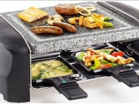 We love the Petra Raclette Multifunctional Stone Grill
