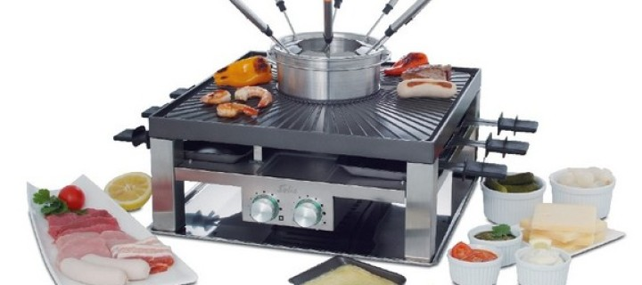 Solis Combi Grill is for People Who Want an Indoor Grill Party