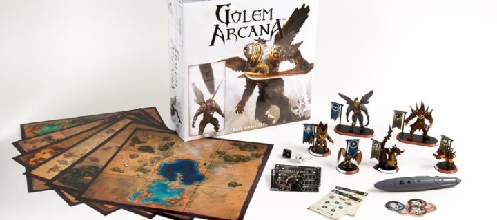 Golem Arcana Miniatures Board Game is Great for Gaming Friends and Family