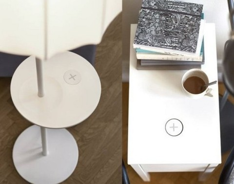 Ikea introduces Furniture that  Wirelessly Charges Mobile Devices