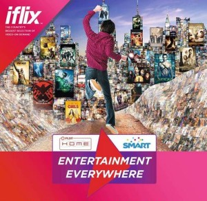 PLDT Smart iflix partnership