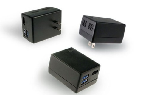 Quanta Compute Plug is a Windows 10 Computer in a Phone Charger