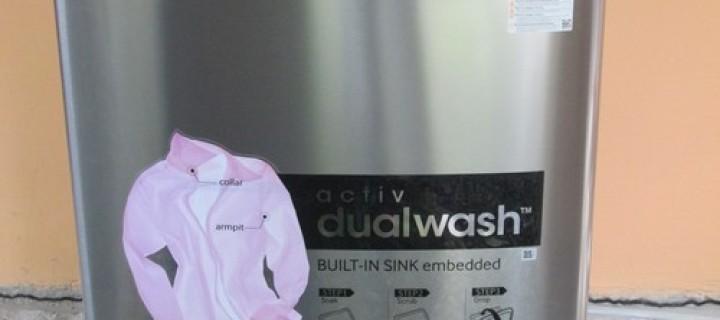 Samsung Activ DualWash Top Loading Washing Machine Video Review