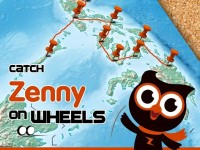 Join the Asus Zenny on Wheels & Get a Chance to win an Asus ZenFone 2!