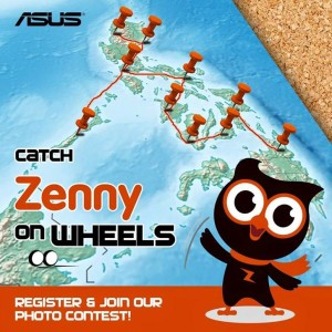 Asus Zenny on Wheels Promo