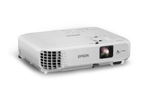 The versatile projector features widescreen, high-definition 720p resolution and flexible setup options, delivering a big-screen experience for any home. (PRNewsFoto/Epson America, Inc.)