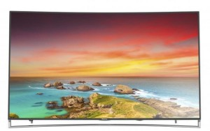 Hisense 4K ULED Curved Smart TV