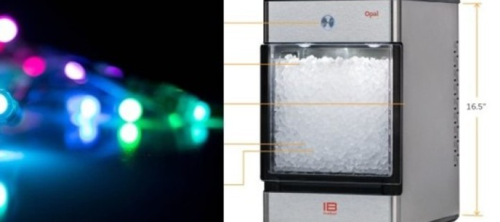 Get the Opal Nugget Ice Maker and Back Hypno Lights!