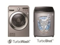 LG Turbo Washers Can Handle Big Loads