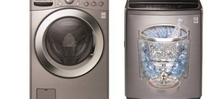 LG Turbo Washers Can Handle Big Loads