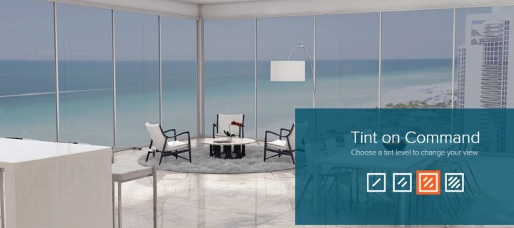 View Dynamic Glass Generates and Controls Tint for Your Windows
