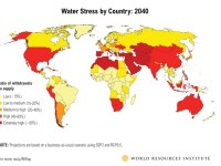 World's Most Water Stressed Countries by 2040