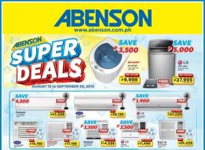 Abenson Promo September 2015