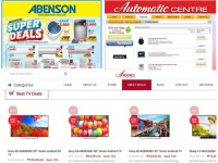 Great Promos and Sales at  Abenson, Automatic Centre and Anson
