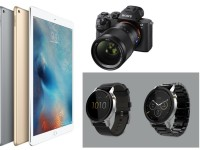 New Apple iPad, Moto 360 and Sony a7S II Digital Camera