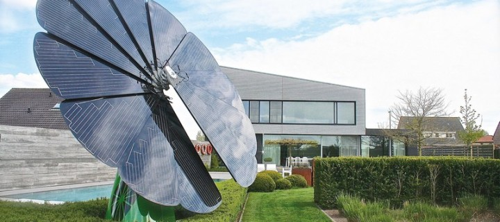 Smartflower POP+ is an All in one Solar Power Solution