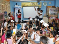 Philips visits Barangay Balagtas in Las Pinas for Simply Healthy project