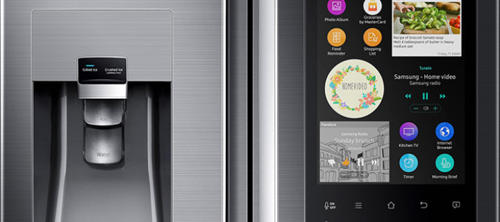 The Samsung Family Hub Refrigerator will Help with the Groceries