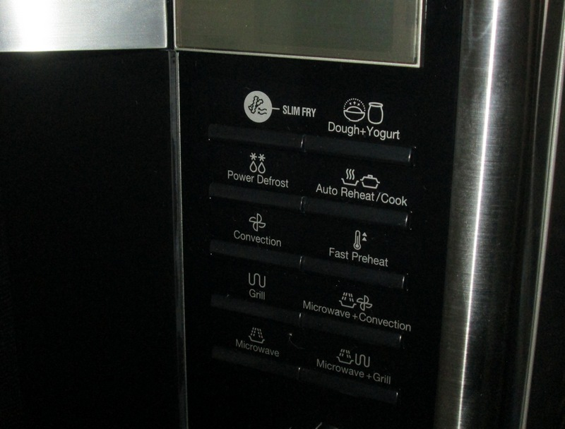 Samsung Smart Oven Preset Controls