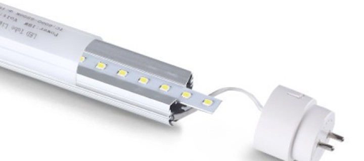 The Senior LED T8 Tube Replaces Fluorescent Tubes