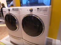 The Whirlpool Closet Depth Front Load Washer and HybridCare Dryer are Awesome