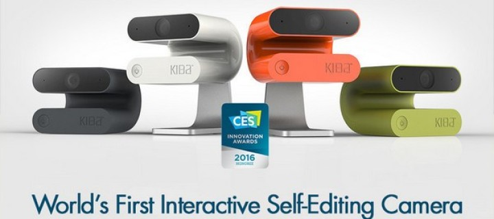 Get Kiba, the First Interactive Self-Editing Video Camera