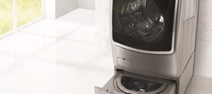LG TWIN Wash That Can Handle Two Loads Separately is Finally Here