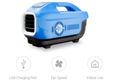 Zero Breeze is the World's First Portable Multifunctional Air Conditioner