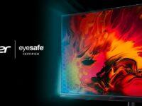 Acer premium monitors meet Eyesafe standard