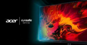 Acer Gaming Monitors meet Eyesafe standard