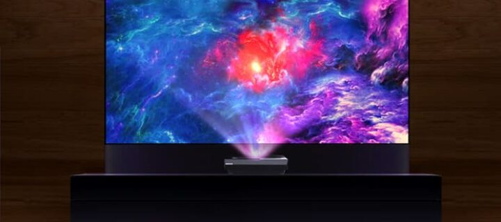 Bring the big screen into your home with Polaris 4K Laser TV