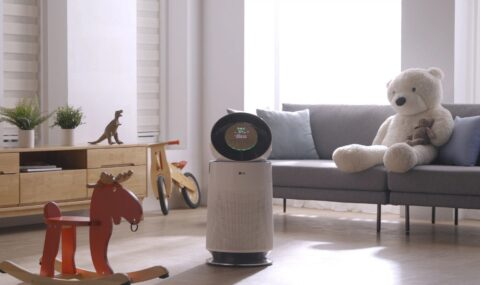 LG releases new air purifiers for home and on the go