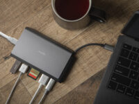 Symbus Mini USB-C Hub is great for thin laptops